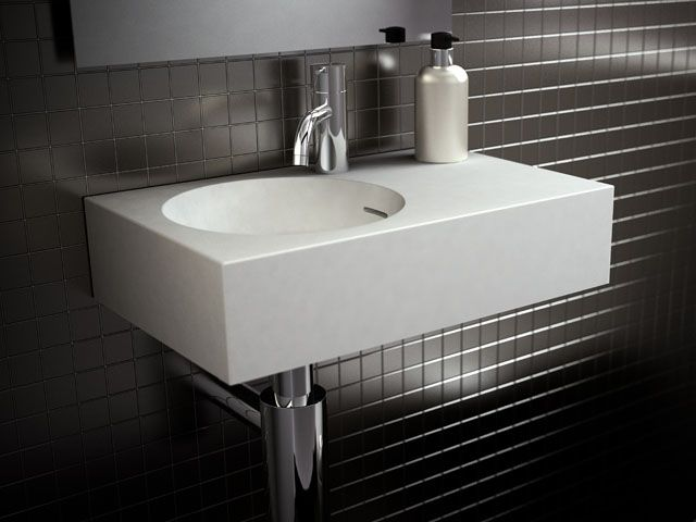 What our new bathroom basins will be!  omvivo neo solid white - Google Search