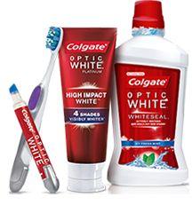 Teeth Whitening Products | Colgate® Optic White®  http://getfreecharcoaltoothpaste.tumblr.com