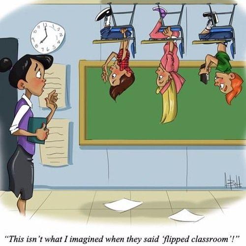 Flipped Classroom en inglés Nuria Ortíz Soler Flipped Classroom, a different way to teach!