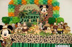 decoracion de mickey mouse safari - Buscar con Google