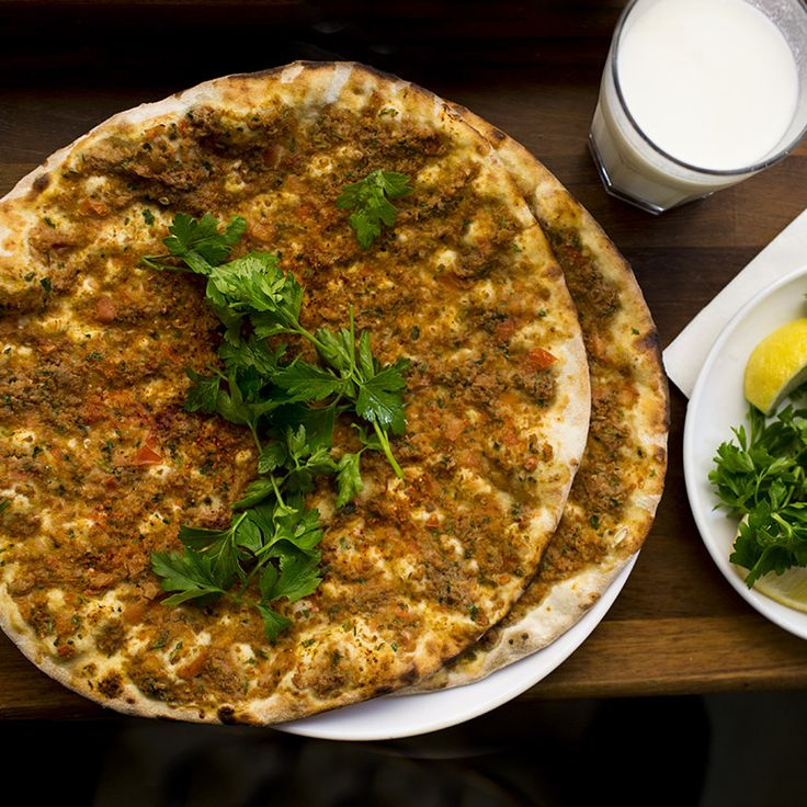 lahmacun - please don't call it Turkish pizza via Eating Asia
