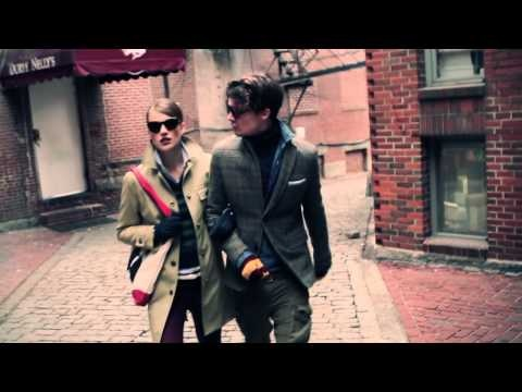 Sam Homan & Danny Beauchamp Go 'Back to Boston' for GANT by Michael Bastian Fall/Winter 2012 Campaign
