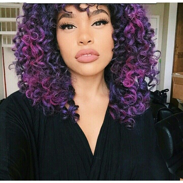 easy natural hair styles 1000 ideas about curly purple hair on purple 2071 | 382dec77bd70c00cf2071ac214951900