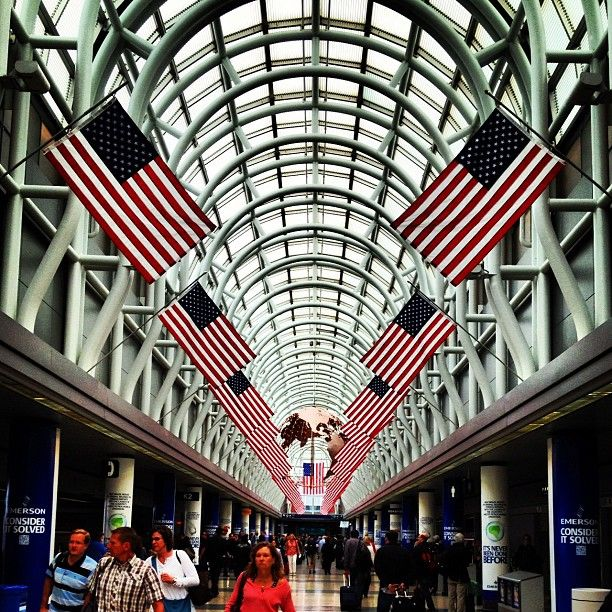 Chicago O'Hare International Airport (ORD) is one of the busiest airport in the world.