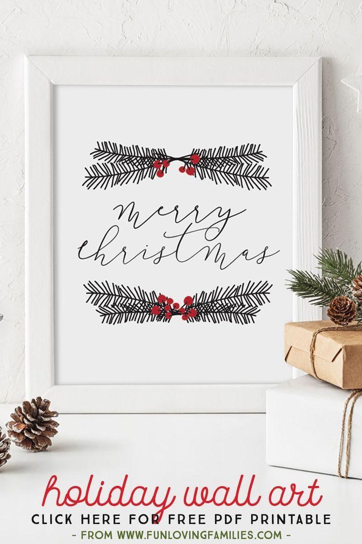 Free Printable Christmas Wall Art Holiday Wall Art Christmas Wallpaper Free Christmas Wall Art