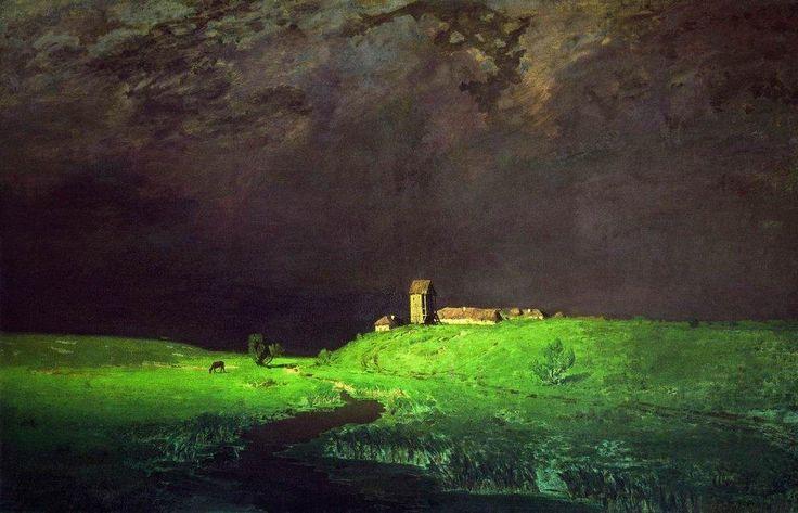 "Arkhip Kuindzhi -   ""After a Rain"", 1879"