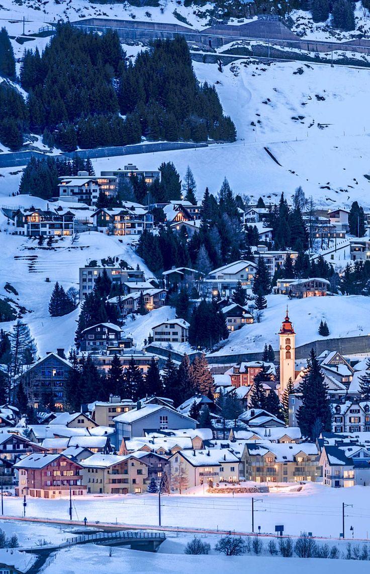Andermatt, Switzerland by Martin Schnetzler