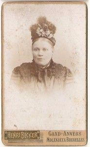 Oude foto's, oude portretfoto's en oude familiefoto's dateren