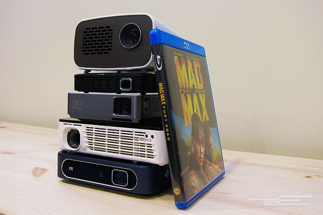 The Best Pico Projector | The AAXA P300 is very bright with a good selection of inputs, and it can be placed closer to the wall than other models.