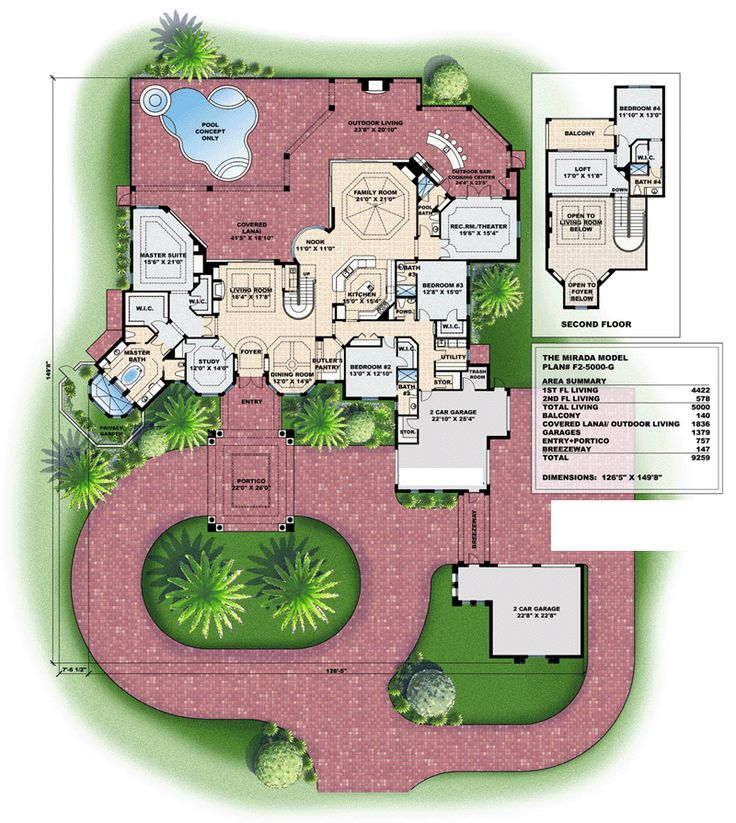 1000 images about Cool Floor Plans on Pinterest Monster house