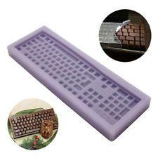 3D Keyboard Silicone Fondant Cake Mould Chocolate Mold Sugarcraft Baking Decor