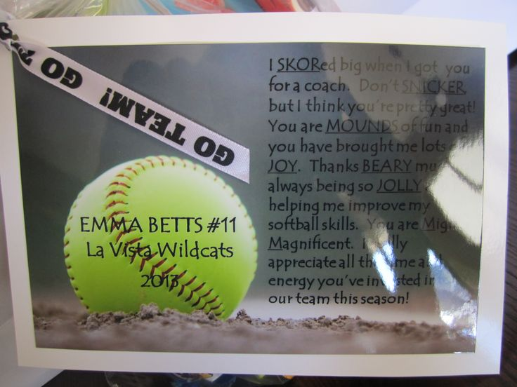 The  Best Softball Coach Gifts Ideas On   Coach Gifts