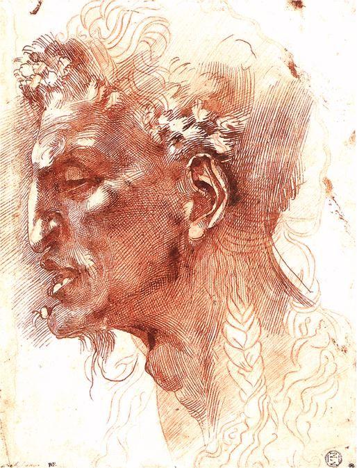 Satyr's Head, Michelangelo