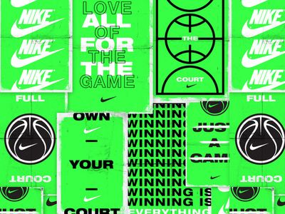 Nike Basketball Poster Concepts