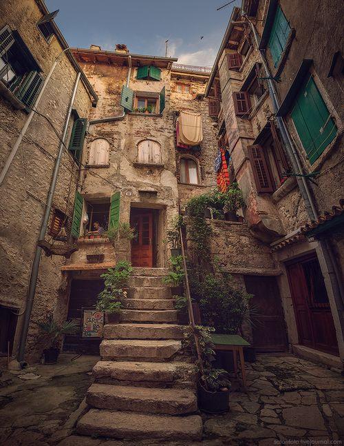 Stairway, Rovinj, Croatia photo via nadine