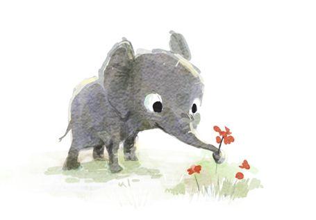 elephant doodle // sydwiki // Illustration by SYDNEY HANSON
