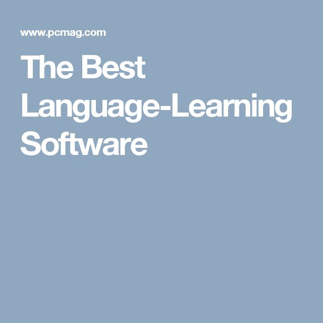 The Best Language-Learning Software