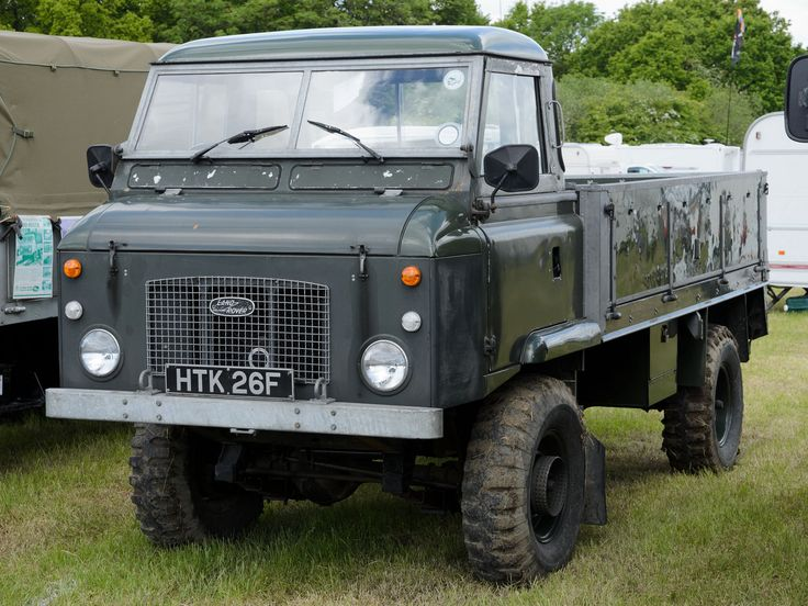 https://flic.kr/p/uhad6q | Land Rover series 2B 110 Forward Control (1968) | Heskin Hall Steam Fair 30/05/2015