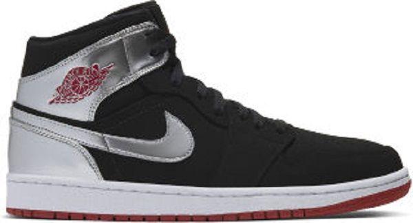 Air Jordan 1 Mid Mens Lifestyle Shoe