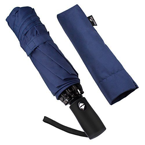 #beachaccessoriesstore Doryum Automatic Travel Umbrella with Safe Auto Lock Design Windproof Folding Inverted… #beachaccessoriesstore