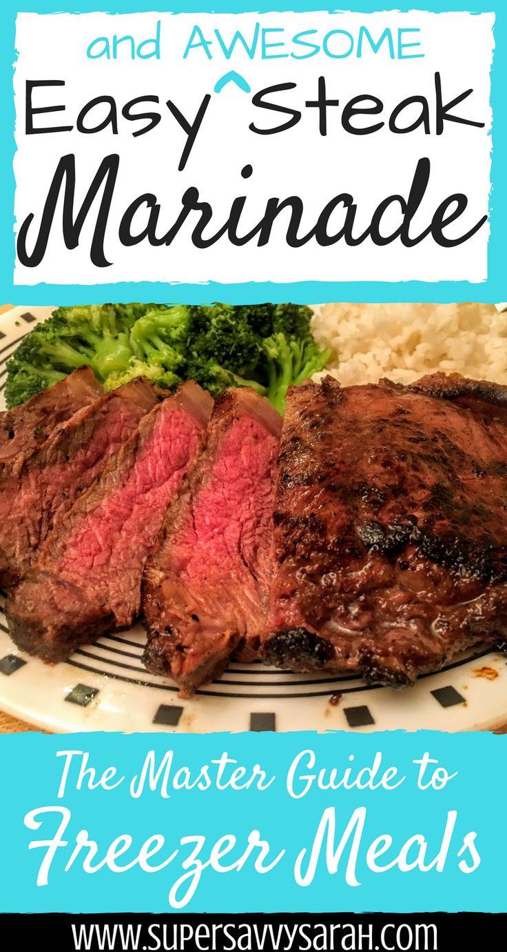 easy steak marinade, steak marinade, 5 ingredient steak marinade, easiest steak marinade, simple steak marinade, freezer meals, freezer steak marinade, best steak marinade, steak marinade recipe, grilled steak marinade, grilled steak, tender steak marinade, tenderizing steak marinade, sirloin steak marinade, easy sirloin steak marinade, best steak marinade, Super Savvy Sarah
