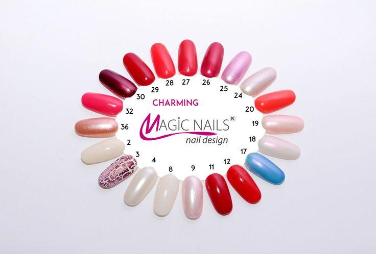 Golden Rose Classics lak na nehty 11 - 7,5 ml   Magic Nails gelové nehty