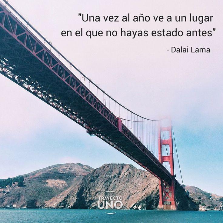 #Inspiration #travel #quotes #travelquotes #viajes #frases #viajeros #dalailama