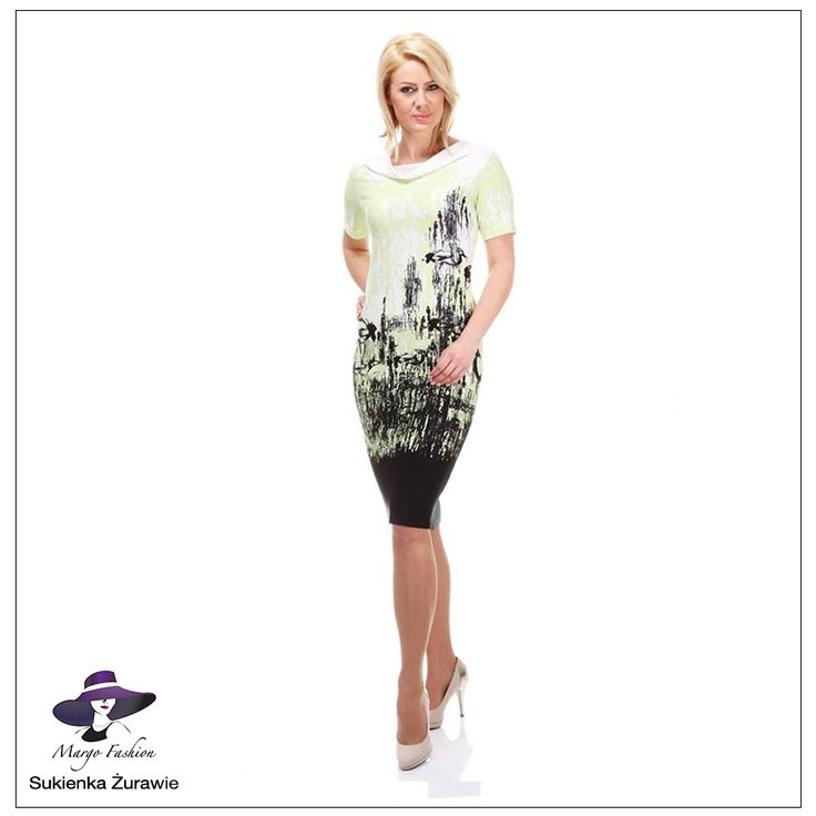 Sukienka Żurawie #sukienka #kobieta #moda #margofashion #dress #women #clothing #fashion