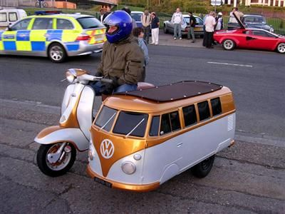 Scooter combi