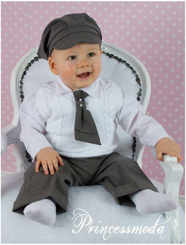 DER WINTER Louis Taufanzug inkl. Jacke! - Princessmoda - Alles für Taufe Kommunion und festliche Anlässe