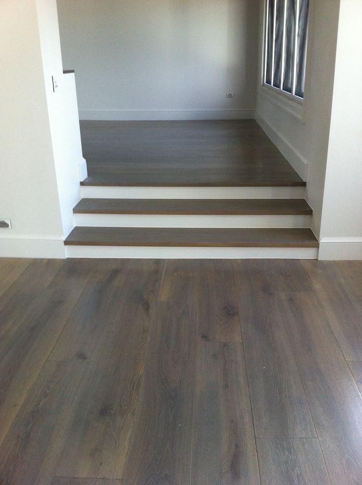 American White Oak Solid Floor Grey Stain American