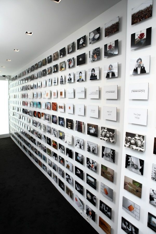 Unique wall photo display Ideas For You (30)
