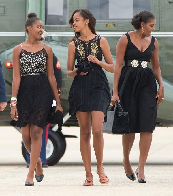 iamvictoriaanne:  The Obama ladies are GORGEOUS!  Workkkkkkkkkkkkkkkkkkkkkkk!!