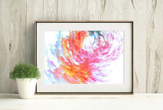 Printable Abstract Autumn Photograph, Fall Colours Print by PlayfulPixieStudio  #printablefallart #fallcolours #abstractphotograph #instantdownload