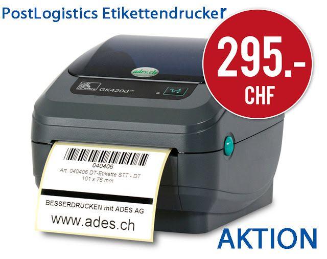 BESSERDRUCKEN: Günstiges Drucker-Set speziell für PostLogistics K...