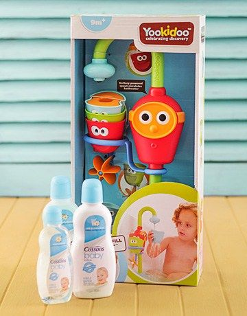 Yookidoo Bath Toy Hamper