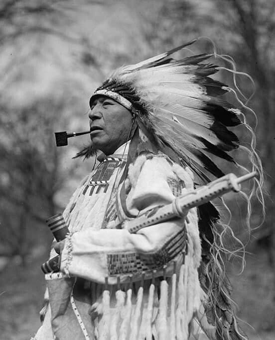 Chief Whirlwind Soldier, Sioux, S.D. Rosebud Reservation, 1925