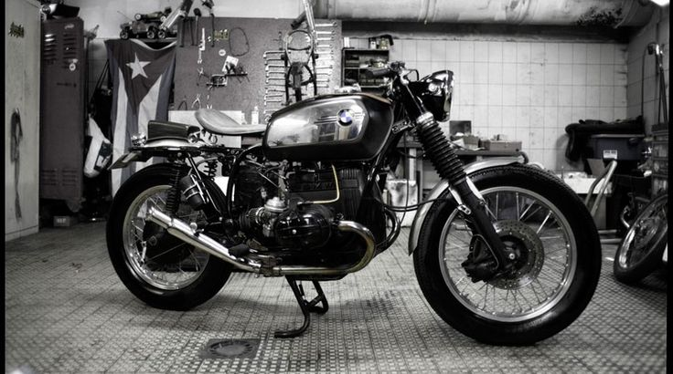 1960's British Café Racer inspired BMW R80/7 (SOLO SEAT)  by Blitz Motorcycles - Independent Custom Garage