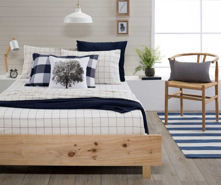 BED :: EGYPTIAN FLANNEL QUILT COVER SETS AND SHEETS :: Tyne Fitted Sheet Set