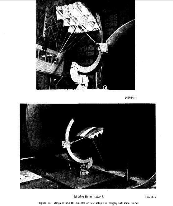 STATIC AERODYNAMIC CHARACTERISTICS OF THREE RAM-AIR-INFLATED LOW-ASPECT-RATIO FABRIC WINGS
