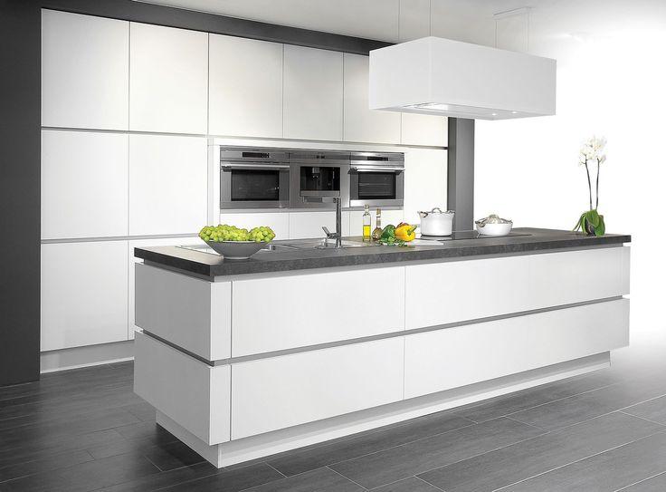 DESIGN - Premium White (TZGR44) (Met houten blad)