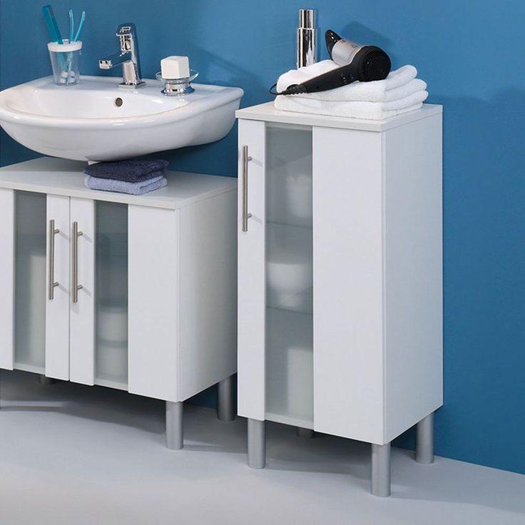 Badezimmer-Unterschrank mit Milchglaseinsatz Weiß Jetzt bestellen unter: https://moebel.ladendirekt.de/bad/badmoebel/waschbeckenunterschraenke/?uid=1df40fda-0124-5b41-b142-766ec43a2435&utm_source=pinterest&utm_medium=pin&utm_campaign=boards #badeunterschrank #badezimmerkommode #bad #badunterschrank #beistellschrank #unterbeckenschrank #badezimmerschrank #badezimmerschränkchen #badezimmerunterschrank #schrank #unterschrank #badschrank #badmoebel #badeschrank #badezimmer…