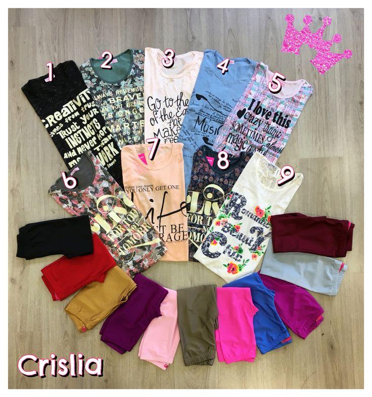 Μπλούζες κοντό μανίκι one size 1+1 Δωρο 11,99€ Κολάν γυαλιστερά one size 12,99€ Κάνε τώρα τον δικο σου συνδυασμό!!! #crislia #special #offer #shoponline #easter #gifts #2016 #color #newcollection #spring  Κάνε την παραγγελία σου : •στο www.crislia.com •με μήνυμα inbox •τηλεφωνικά στο 210-5223012 Καθημερινές 10:00-18:00!  Μεταφορικά με αντικαταβολή 4,90€ Δυνατότητα κατάθεσης σε τραπεζικό λογαριασμό με έξοδα αποστολής 3,90€ Δωρεάν αποστολές για αγορές ανω των 70€!