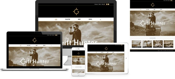 Forge Online creates yet another stunning example of contemporary and functionally powerful Open Source website design for The Gift Hunter.