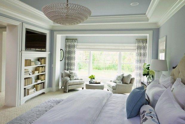 Светлый интерьер комнаты