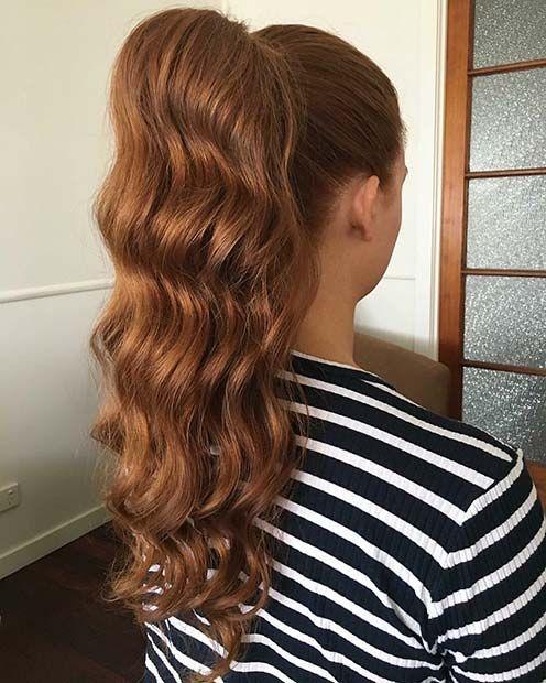 21 Elegante Pferdeschwanz Frisuren Fur Besondere Anlasse Frisuren Pferdeschwanz Frisuren Haar Styling
