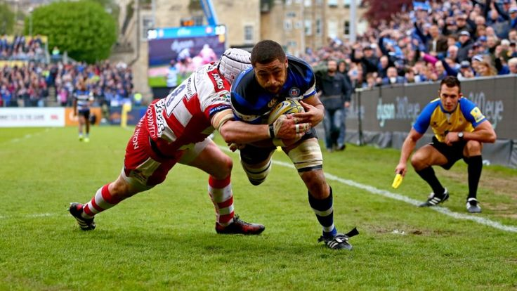 Match Report: Bath Rugby 44 Gloucester Rugby 20 | Premiership Rugby Toby Faletau scored a hat-trick as Bath Rugby kept their hopes of reaching the Aviva Premiership Rugby semi-finals alive with a 44-8 victory over Gloucester Rugby at The Rec