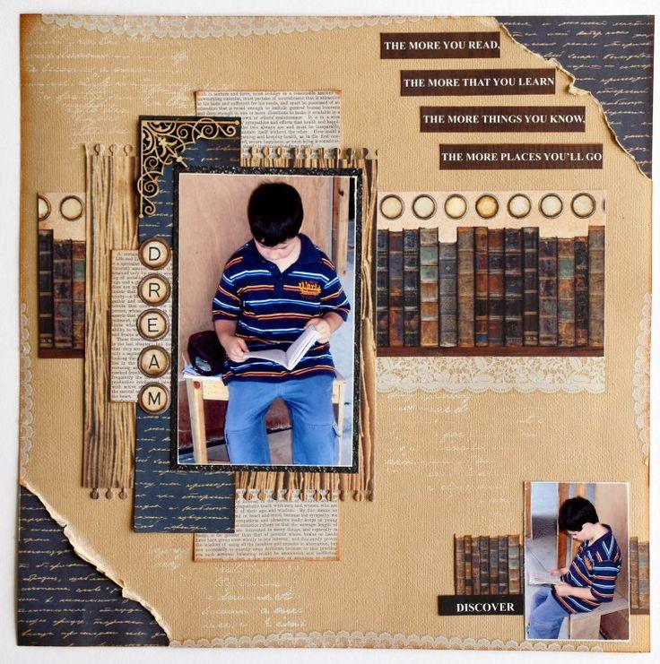 Kaisercraft - Story Book - Collette Mitrega
