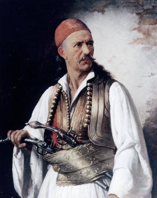 Δημήτριος Μακρής. Ελαιογραφία, αρ.κατ. 277, Εθνικό Ιστορικό Μουσείο
