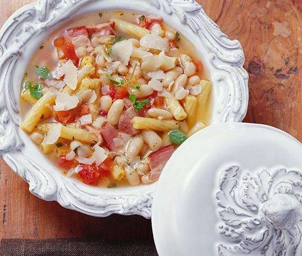 Rezept: Zuppa di fagioli bei for me   For me online Germany
